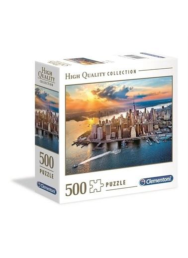 Clementoni Clementoni 500 Parça New York Puzzle-97322 Renkli